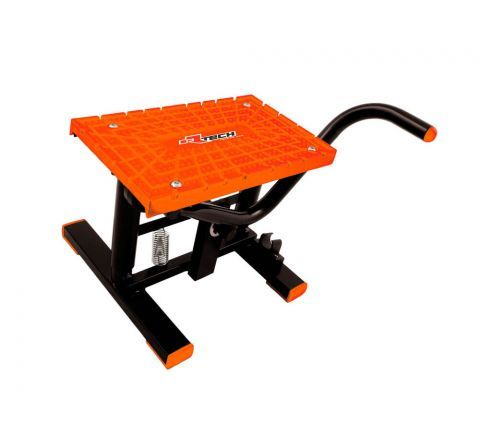 FOOT LIFT STAND RTECH FOR MINI'S & MOTARDS UP TO 150KG MADE IN ITALY ORANGE