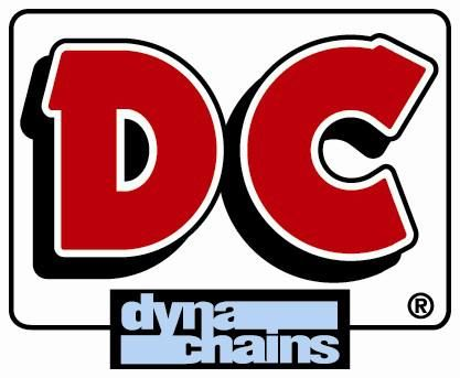 DC DYNA CHAIN 520-110 SOLID BUSH 3100 TENSILE STRENGTH FOR MOTORCYCLES UP TO 250CC RRP $59.95