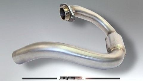 *HEADER PIPE BOOST CRF450R 09-14 MUST USE WITH DEP MUFFLER