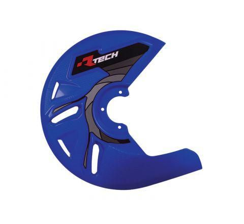 DISC GUARD RTECH SUITABLE FOR STD OR OVERSIZE DISC REQUIRES MOUNTING KIT SOLD SEPARATELY BLUE