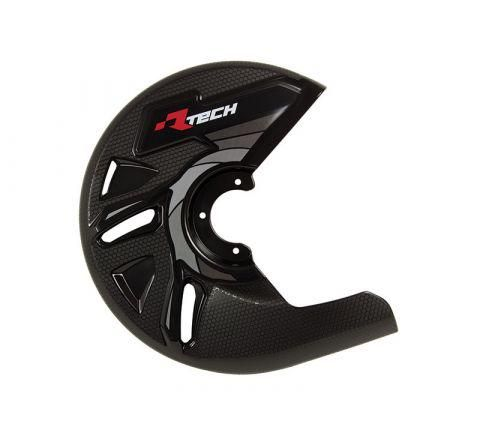 DISC GUARD RTECH  SUITABLE FOR STD OR OVERSIZE DISC REQUIRES MOUNTING KIT SOLD SEPARATELY BLACK