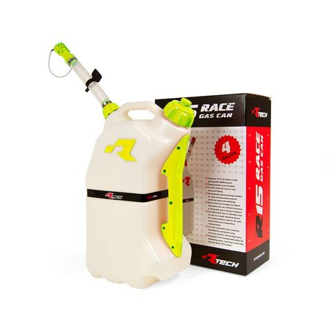GAS CAN RTECH 15 LITRE TRANSPORTATION CAP INCLUDED