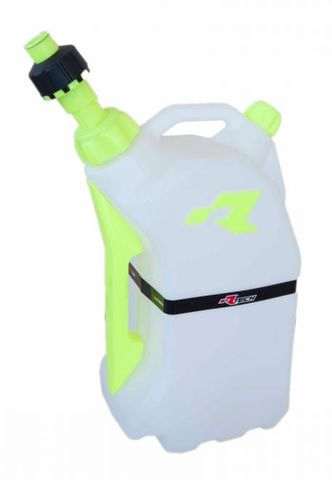 FUEL CAN RTECH 15 LITRE QUICK REFUELING FITS INTO R15 STAND FOR EASY TRANSPORTATION  YELLOW