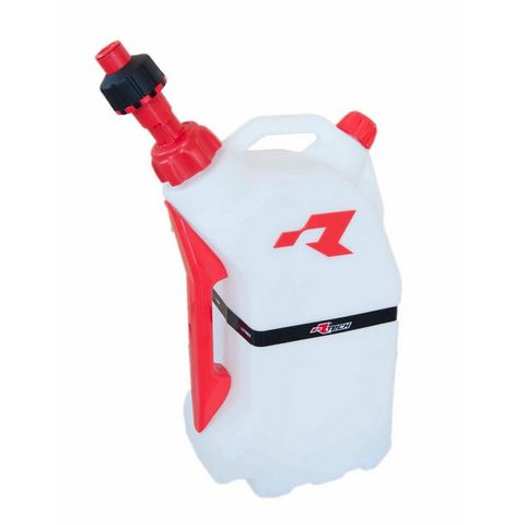 FUEL CAN RTECH 15 LITRE QUICK REFUELING FITS INTO R15 STAND FOR EASY TRANSPORTATION RED