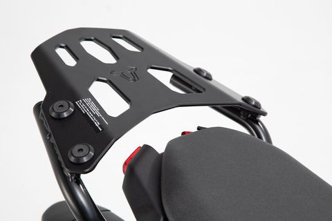 CARRIER SWMOTECH STREET RACK SWMOTECH TOP CASE GIVI KRAUSER & SHAD OR SYSBAG 15/30 BAG ADAPTER PLATE
