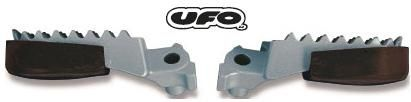 *UFO SUPERMOTARD FOOTPEG SLIDER HONDA PROTECT FROM SCRAPING DAMAGE ON ROAD CRF250R 450R 450RX CR500