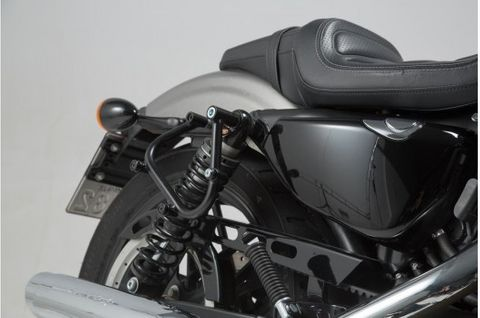 SIDE CARRIER SW MOTECH SLC FOR SYS LEGEND / URBANBAGS HARLEY XL883 XL1200 SPORTSTER 04-18 RIGHT SIDE