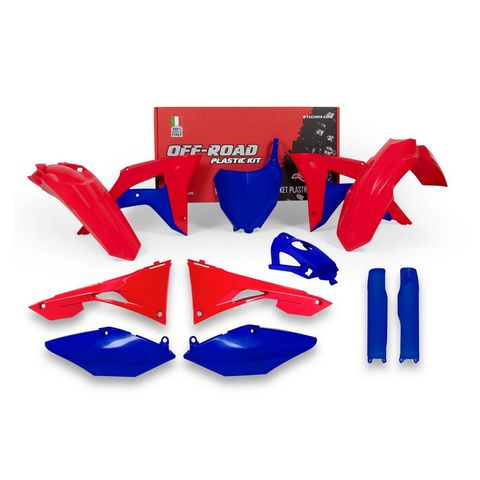 *RTECH FRONT/REAR FENDER RADIATOR SHROUD SIDEPANEL AIRBOX COVER FORK GUARDS &NUMBERPLATE CRF450R 25