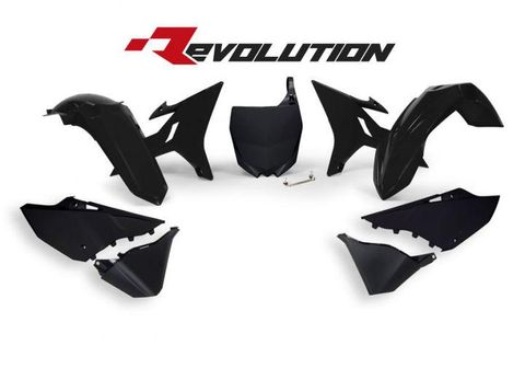 REPLACEMENT PLASTICS ONLY FOR RTECH REVOLUTION KIT YAMAHA YZ125 YZ250 02-21