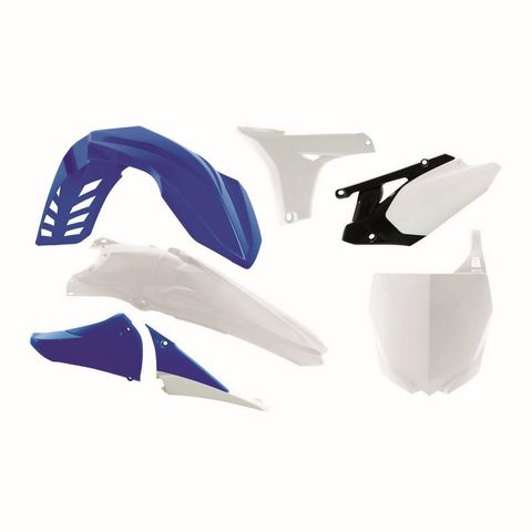 PLASTIC KIT RTECH FRONT&REAR FENDER LOWER SHROUDS&NUMBERPLATE UPPER SHROUD SIDE PANELS YAMAHA YZ450F