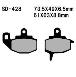*DISC PADS SINTERED M-CAX FA130 VD428 FRONT KAWASAKI KX125 KX250 KX500 87-88 KLR650 87-07 RRP $34.95