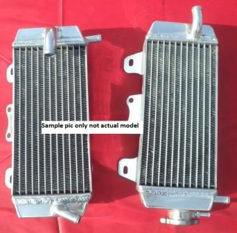 RADIATORS PAIR OVERSIZED KTM 250SXF 250XCF 350SXF 350XCF 450XCF 450SXF 13-14