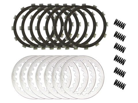 *CLUTCH KIT COMPLETE PSYCHIC WITH HEAVY DUTY SPRINGS  ( DRC101 , CK1293 ) HONDA CR125R 00-07