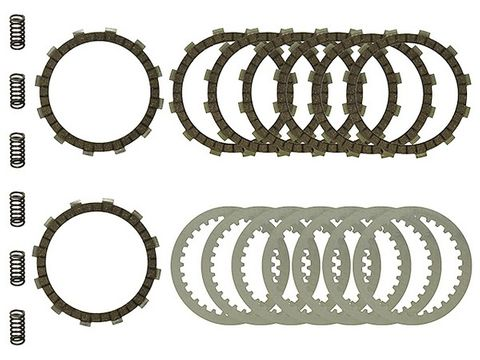 *CLUTCH KIT COMPLETE PSYCHIC WITH HEAVY DUTY SPRINGS RM250 03-05