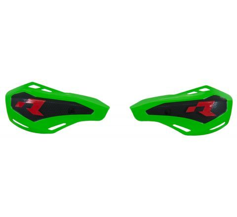 *HANDGUARDS RTECH HP1 COVERS ONLY FITS STD KTM & HUSQVARNA OR RTECH MOUNTS GREEN