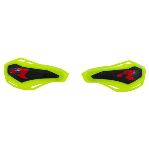 HANDGUARDS RTECH HP1 COVERS ONLY FITS STD KTM & HUSQVARNA OR RTECH MOUNTS FLURO YELLOW