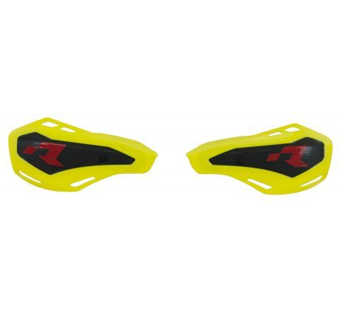 *HANDGUARDS RTECH HP1 COVERS ONLY FITS STD KTM & HUSQVARNA OR RTECH MOUNTS YELLOW