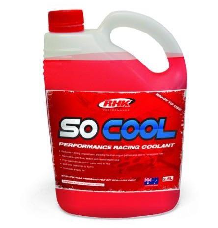 SO COOL 2.5 LITRE HI PERFORMANCE COOLANT