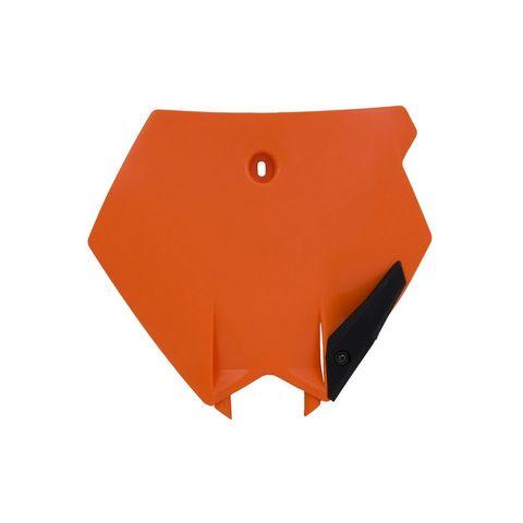*NUMBER PLATE FRONT RTECH KTM 85SX 04-12 ORANGE