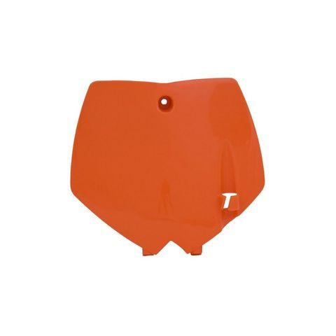 *NUMBER PLATE RTECH KTM 65SX 02-08 ORANGE KT03071127