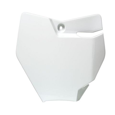 FRONT NUMBERPLATE KTM 65SX 16-21 WHITE