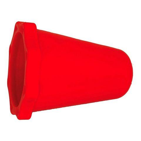 EXHAUST PLUG RTECH 4  STROKE 40-65MM CRF250R CRF450R CRF450RX CRF250X CRF450X 99-19 RED