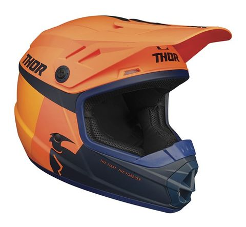 THOR MX SECTOR RACER YOUTH HELMET ORG