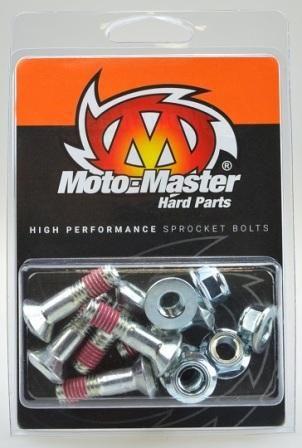 SPROCKET BOLT KIT MOTO MASTER FOR ALL JAPANESE MODELS 6X M8-30MM