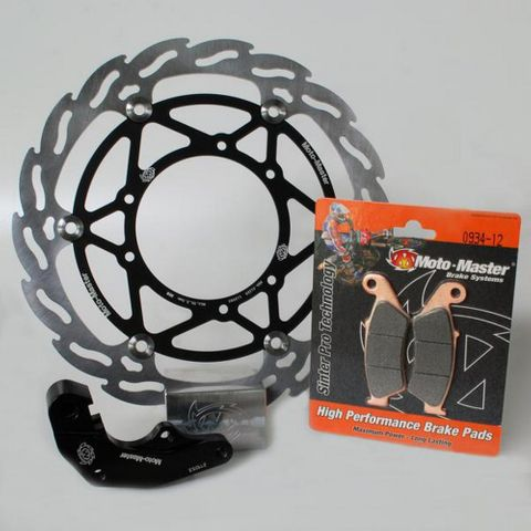 FLOATING DISC KIT OVERSIZE 270MM INCL ROTOR CALIPER ADAPTER & PADS (FITS BREMBO)