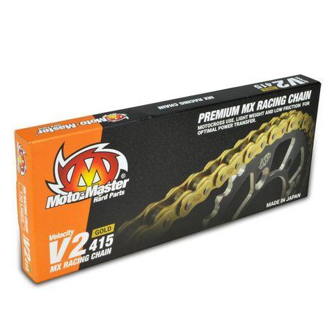 CHAIN 415 - 130 LINK GOLD MOTO-MASTER V2 CHAIN