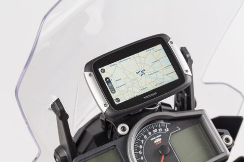 COCKPIT GPS MOUNT DETACHABLE, VIBRATION DAMPED  FITS ALL TOMTOM RIDER MODELS AND GARMIN ZUMO