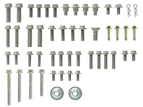 ESSENTIAL HARDWARE EURO STYLE BOLT PACK