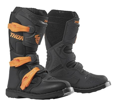 THOR MX BLITZ XP YOUTH CHARCOAL ORG BOOT