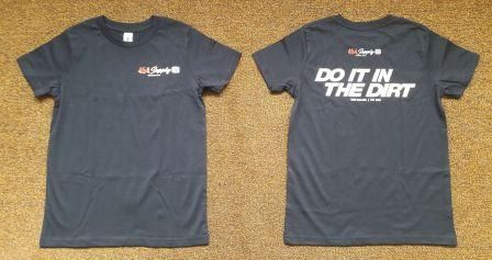 DO IT IN THE DIRT TSHIRT NAVY