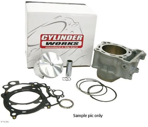 CYLINDER WORKS CYLINDER KIT INCLUDES CYLINDER , TOP GASKET SET & VERTEX PISTON KIT CRF450R 09-12