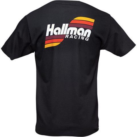 T SHIRT THOR MX HALLMAN TRES BLACK 2XL
