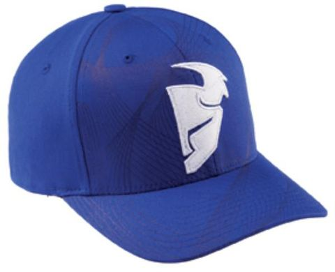 HAT THOR MX SPIRAL NAVY LARGE XL CURVED BILL