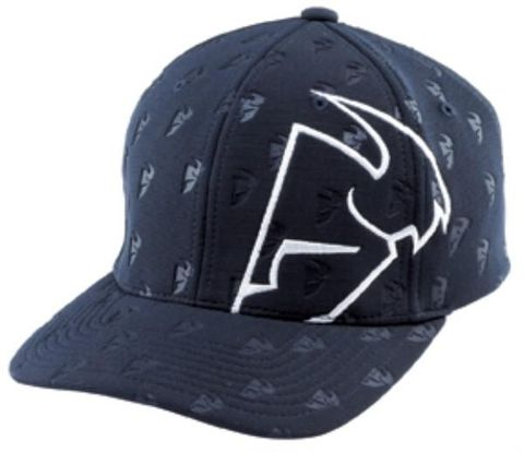 HAT THOR REPEATER NAVY SMALL MEDIUM CURVED BILL