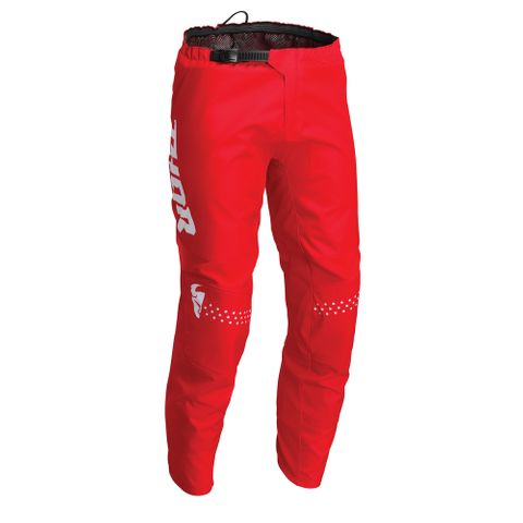 THOR MX PANT S22 YOUTH MINIMAL RED