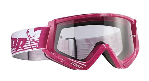 THOR MX GOGGLES CONQUER PINK WHITE