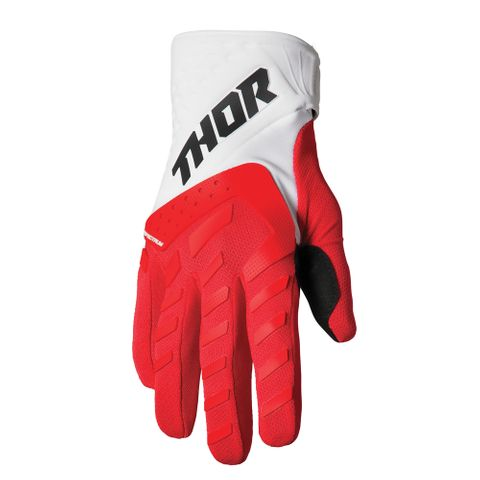 GLOVE THOR S22 SPECTRUM YOUTH RED/WHITE