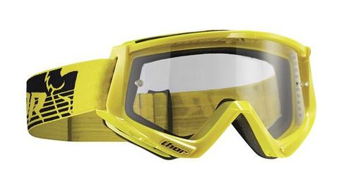 THOR MX GOGGLES CONQUER YELLOW BLACK