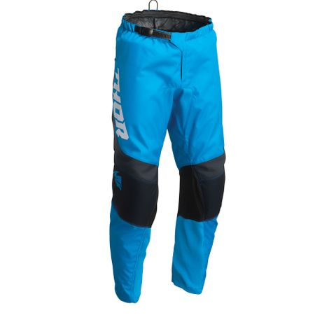 THOR MX PANT S22 SECTOR YOUTH CHEV BLUE MN