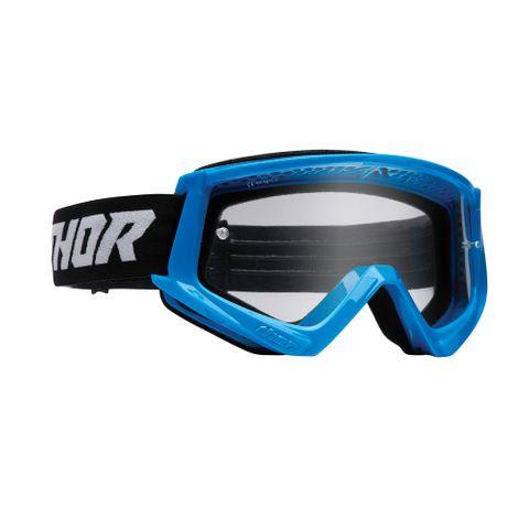 THOR MX GOGGLES S22 COMBAT RACER BLUE/BLACK