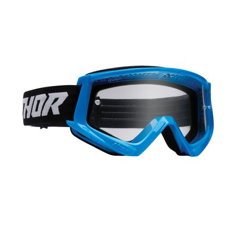 THOR MX GOGGLES S22 YOUTH COMBAT BLUE/BLACK