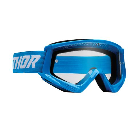THOR MX GOGGLES S22 YOUTH COMBAT BLUE/WHITE