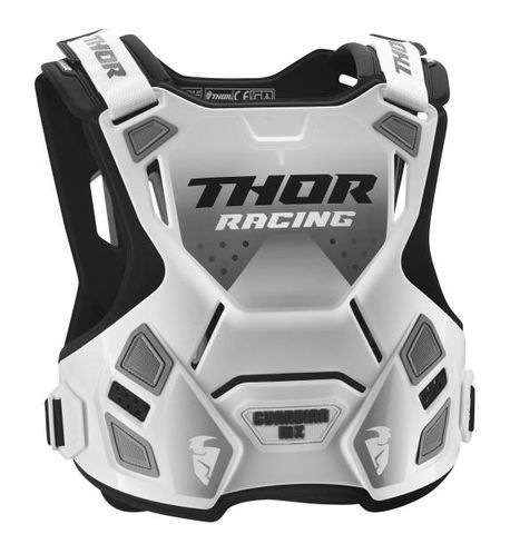 THOR GUARDIAN CHILD CHEST PROTECTOR WHT