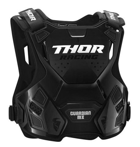 GUARDIAN MX THOR YOUTH CHEST PROTECTOR BLACK SMALL MEDIUM
