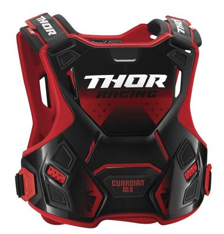 THOR GUARDIAN CHILD CHEST PROTECTOR RED