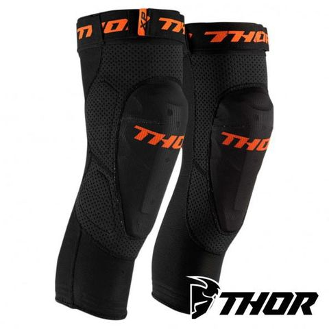 THOR COMP XP ELBOW GUARDS SOFT IMPACT PROTECTOR MOUNTED IN FABRIC SLEEVE FITS UNDER RIDING GEAR